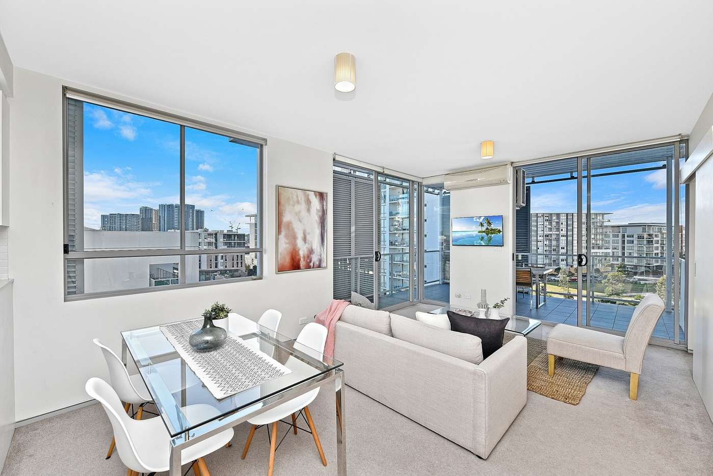 Main view of Homely apartment listing, A501/10-16 Marquet Street, Rhodes, NSW 2138