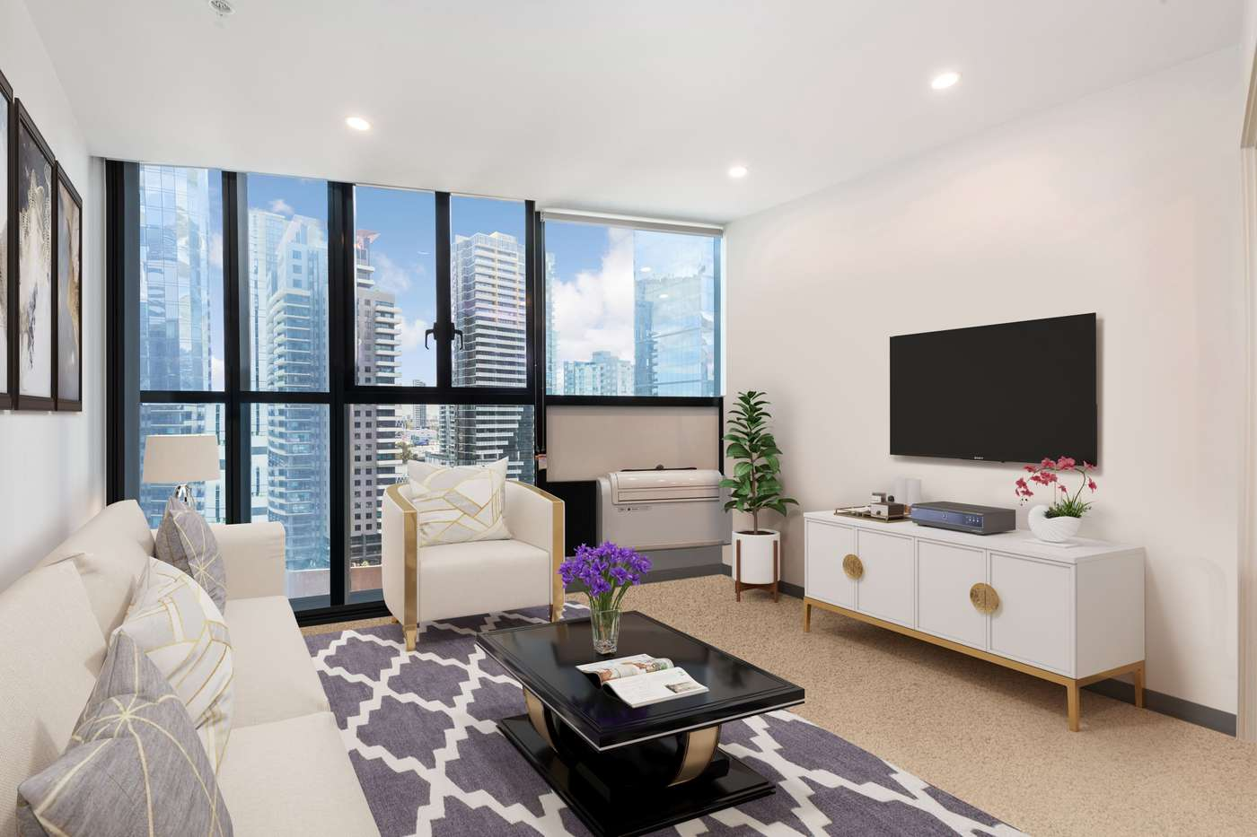 Main view of Homely apartment listing, 1304/33 Clarke Street, Southbank, VIC 3006