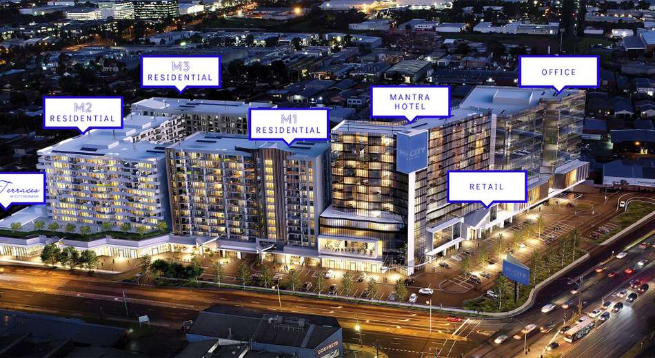 M-City 2107- 2125A Dandenong Road