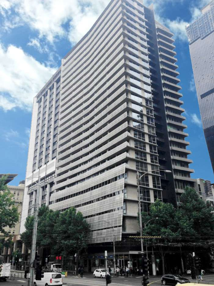 Main view of Homely apartment listing, 1412/620 Collins Street, Melbourne, VIC 3000