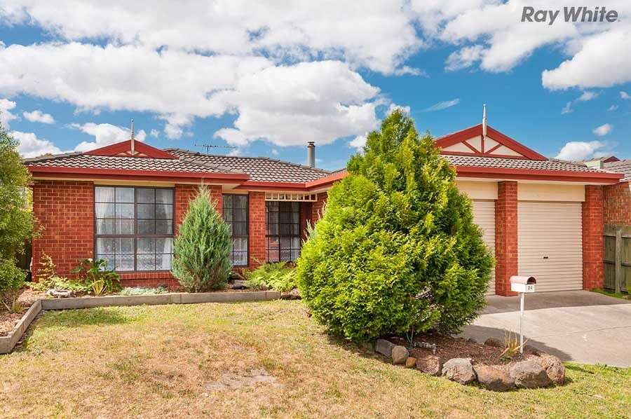 Main view of Homely house listing, 24 Longhurst Crescent, Hillside, VIC 3037