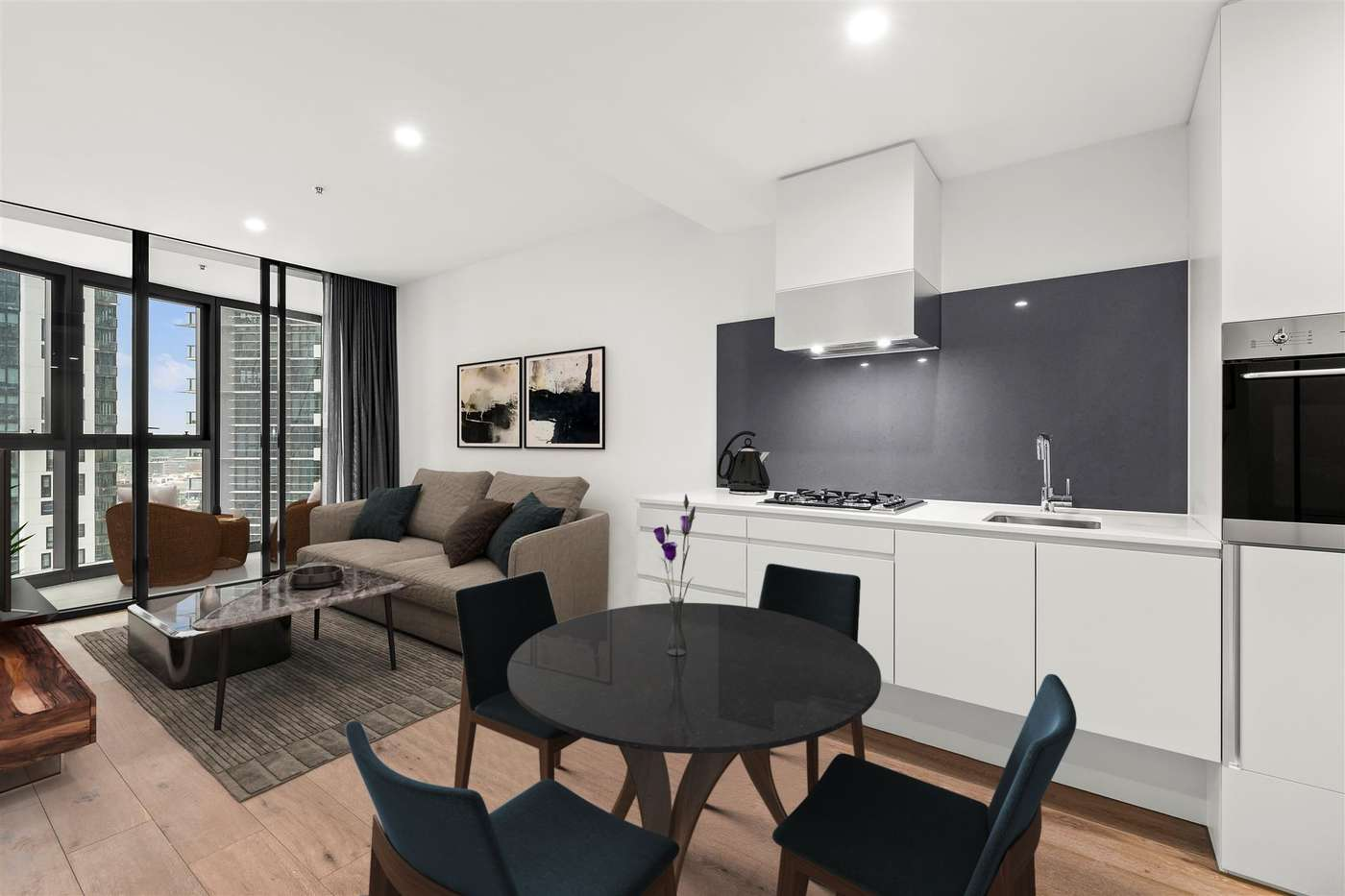 Main view of Homely apartment listing, 1611/105 Clarendon Street, Southbank, VIC 3006