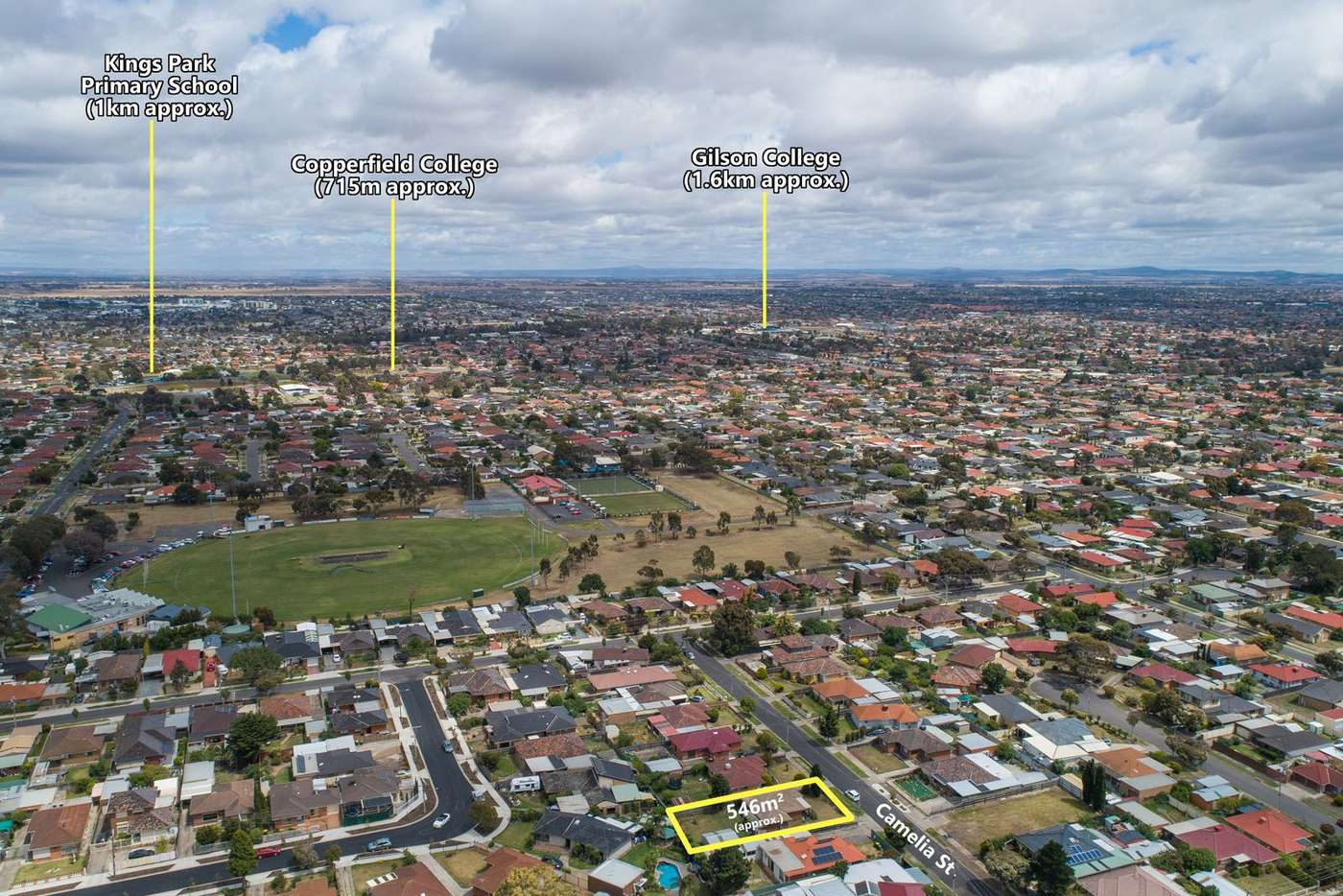 Seventh view of Homely house listing, 3 Camelia Street, Kings Park VIC 3021