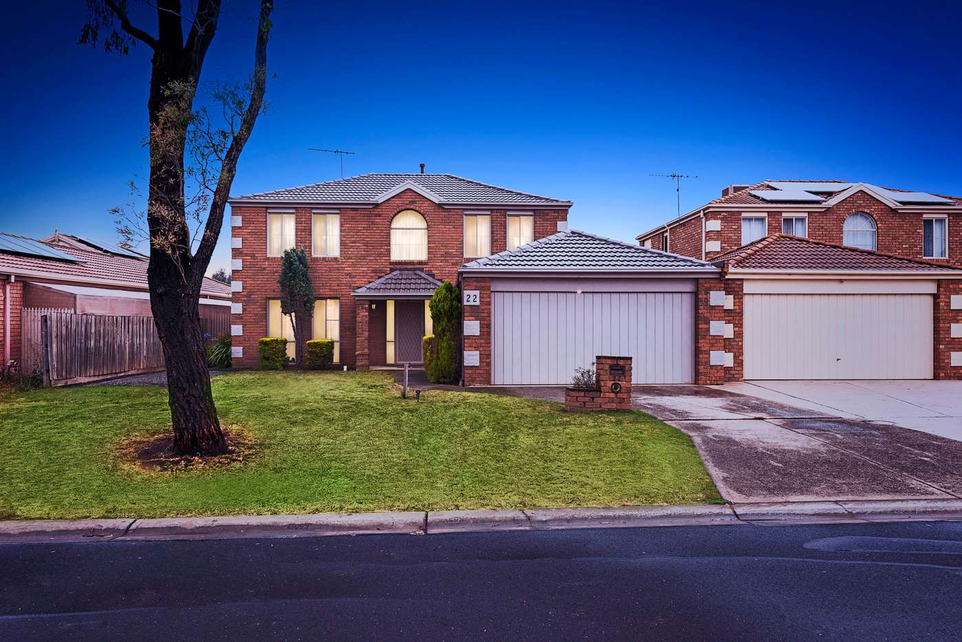 Main view of Homely house listing, 22 Kenmore Close, Hoppers Crossing, VIC 3029