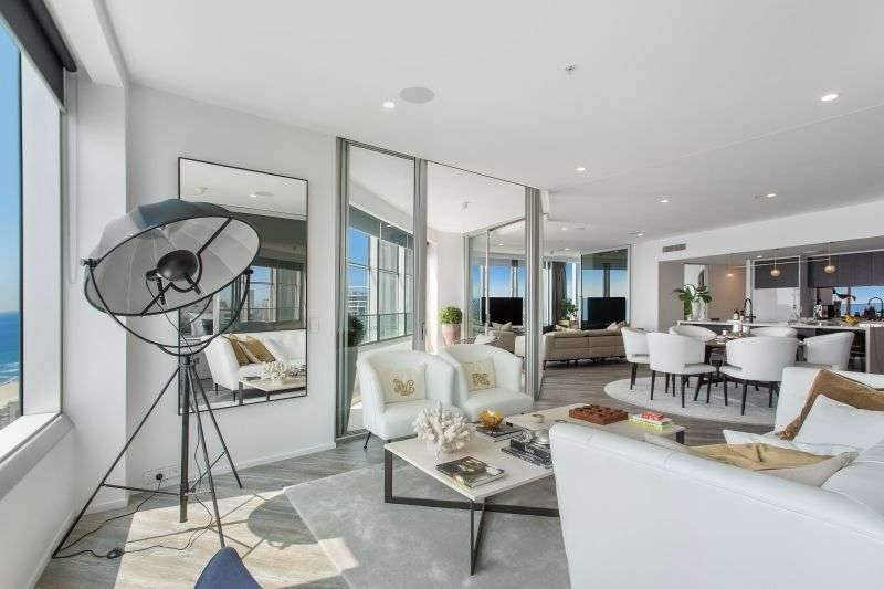 Main view of Homely apartment listing, 2705 'Q1' 9 Hamilton Avenue, Surfers Paradise, QLD 4217
