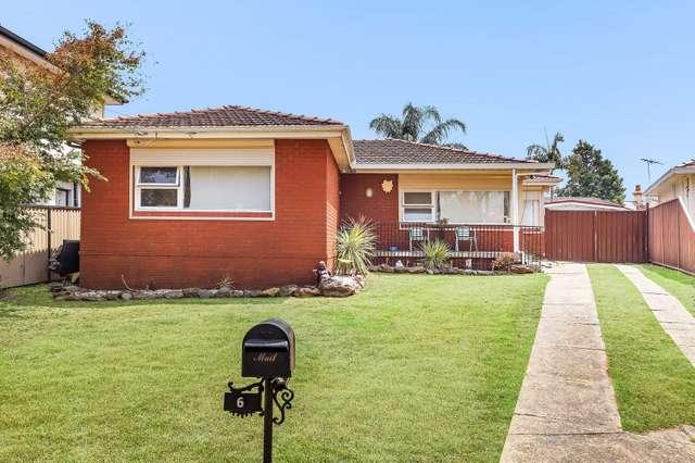 6 Dooley Avenue, Bass Hill NSW 2197