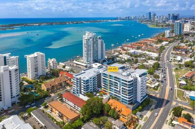 Main view of Homely unit listing, 320/19 Imperial Parade, Labrador, QLD 4215