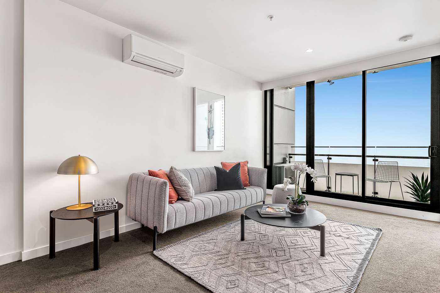 Main view of Homely apartment listing, 2406/45 Clarke Street, Southbank, VIC 3006