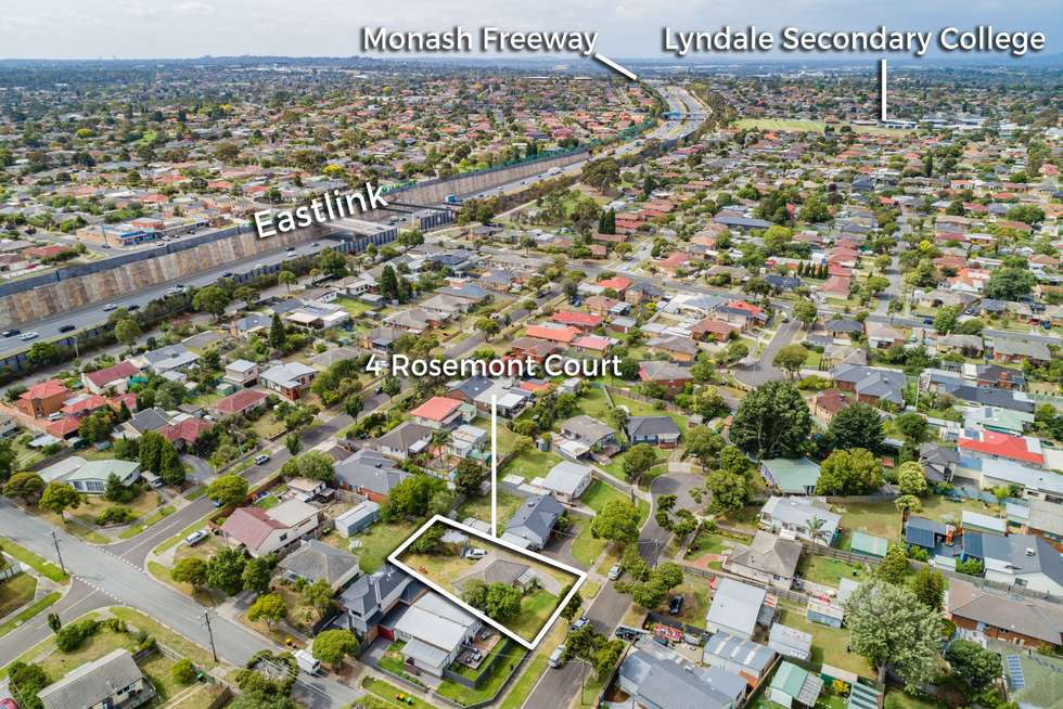 Third view of Homely house listing, 4 Rosemont Court, Dandenong North VIC 3175