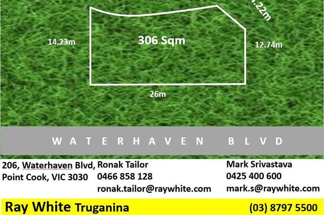 206 Waterhaven Boulevard, Point Cook VIC 3030