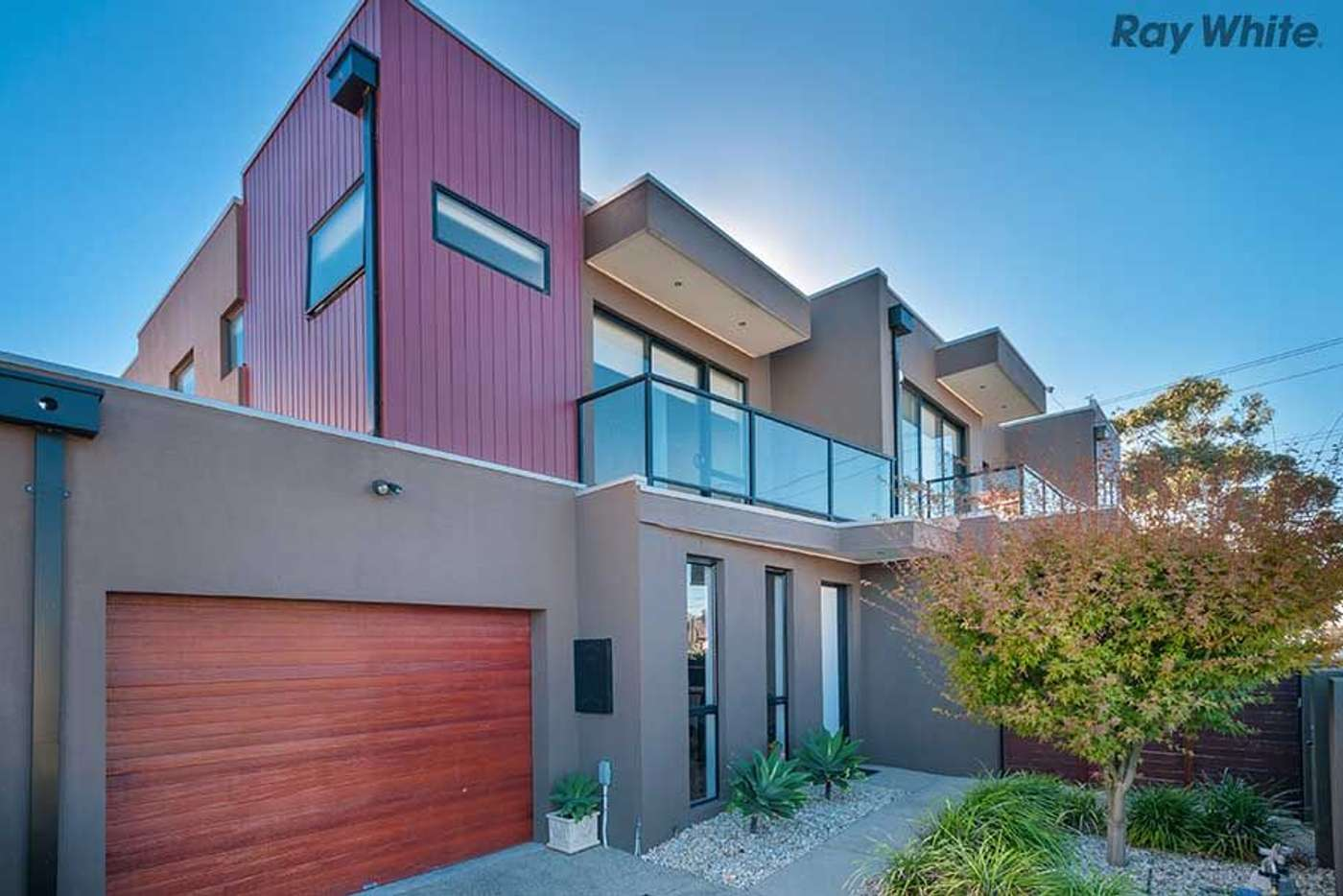 Main view of Homely townhouse listing, 2/2a Lindenow Street, Maidstone VIC 3012