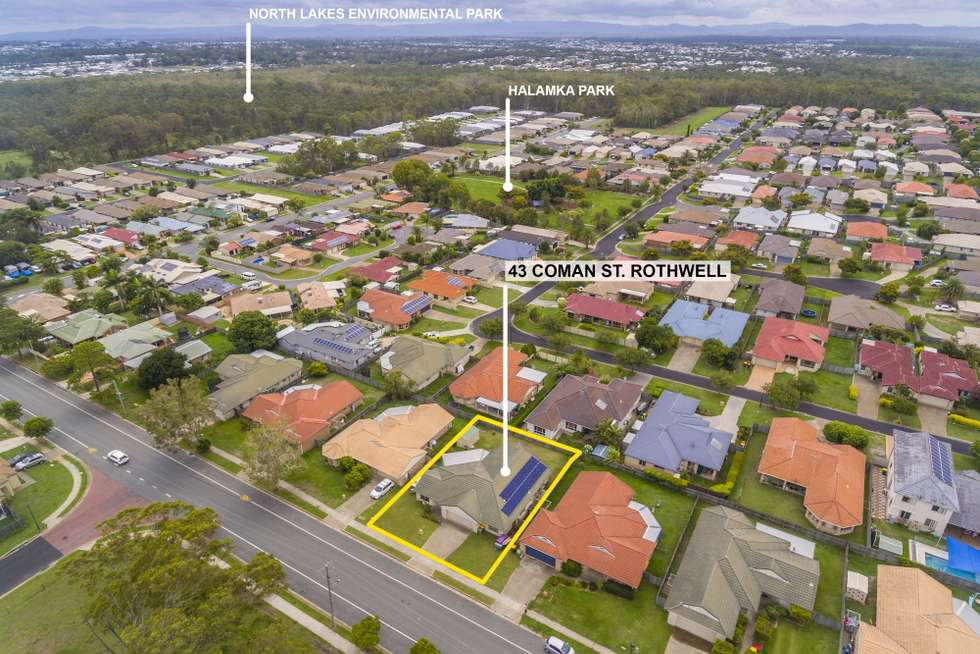 Second view of Homely house listing, 43 Coman Street, Rothwell QLD 4022