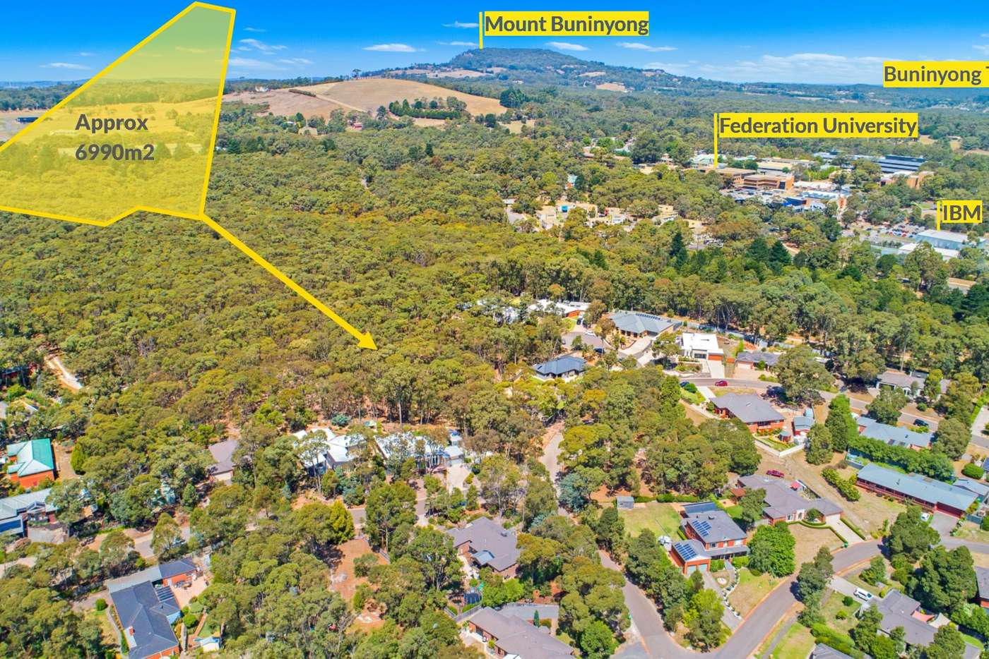Main view of Homely residentialLand listing, 57 Wattletree Drive, Mount Helen VIC 3350