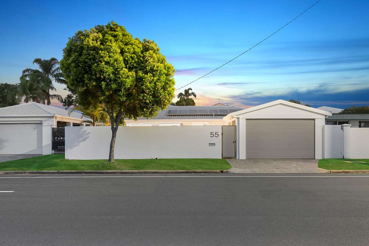 Main view of Homely house listing, 55 Mallawa Drive, Palm Beach QLD 4221