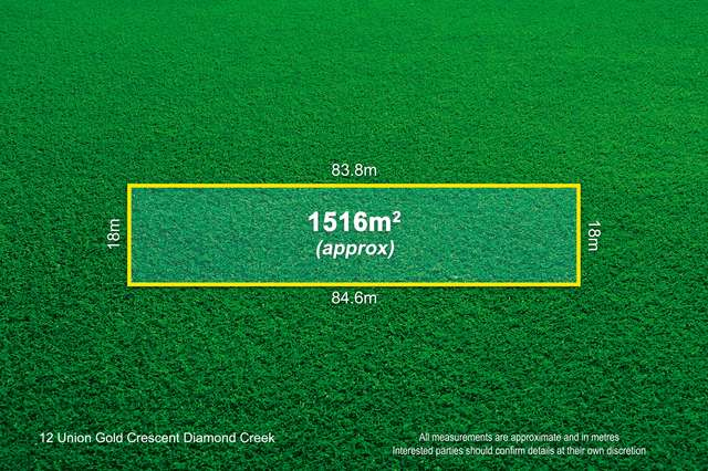12 Union Gold Crescent, Diamond Creek VIC 3089