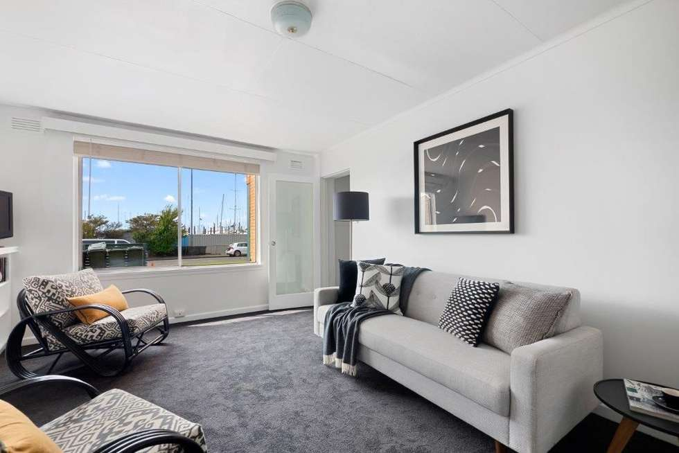 Second view of Homely apartment listing, 2/50 Marieville Esplanade, Sandy Bay TAS 7005