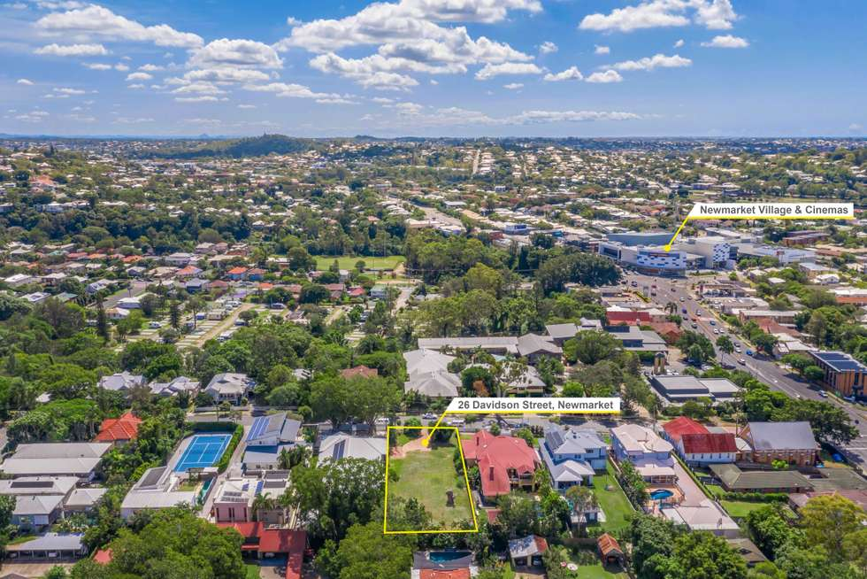Fourth view of Homely residentialLand listing, 26 Davidson Street, Newmarket QLD 4051