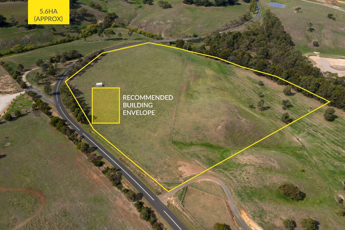 Main view of Homely residentialLand listing, 1/2268 Romsey Road, Romsey VIC 3434