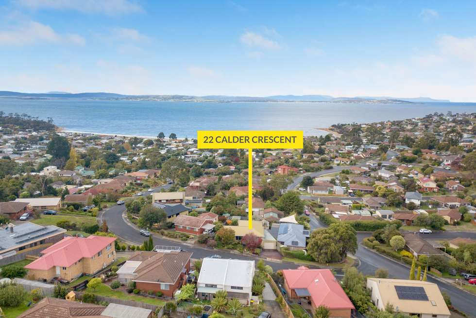 Second view of Homely house listing, 22 Calder Crescent, Blackmans Bay TAS 7052