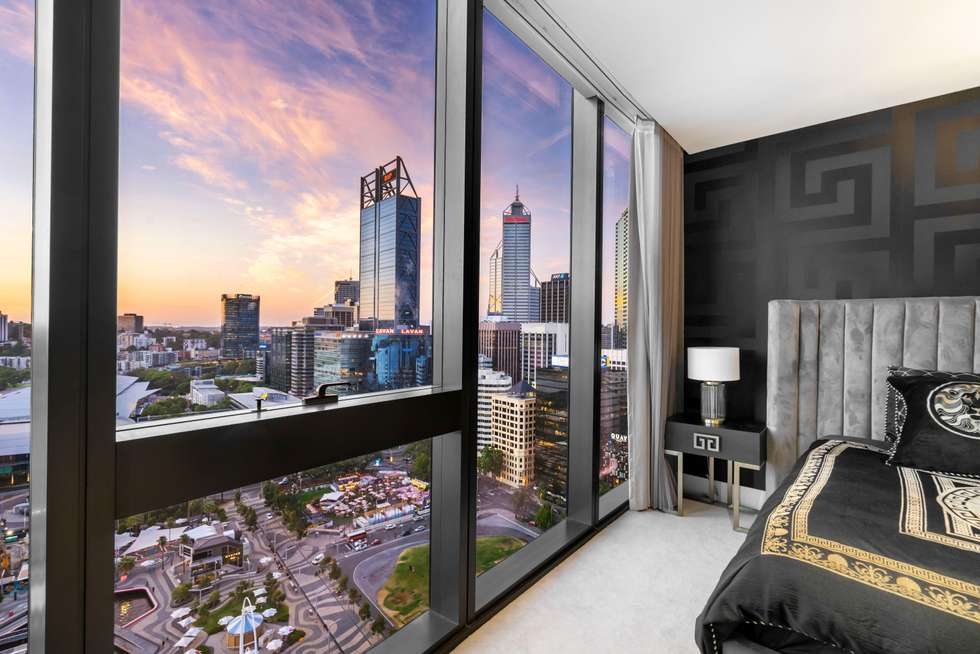 Second view of Homely apartment listing, 2505/1 Geoffrey Bolton Avenue, Perth WA 6000