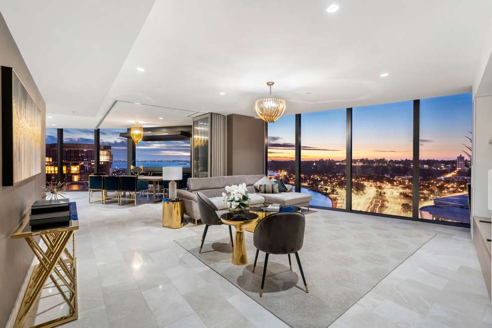 Fourth view of Homely apartment listing, 2505/1 Geoffrey Bolton Avenue, Perth WA 6000