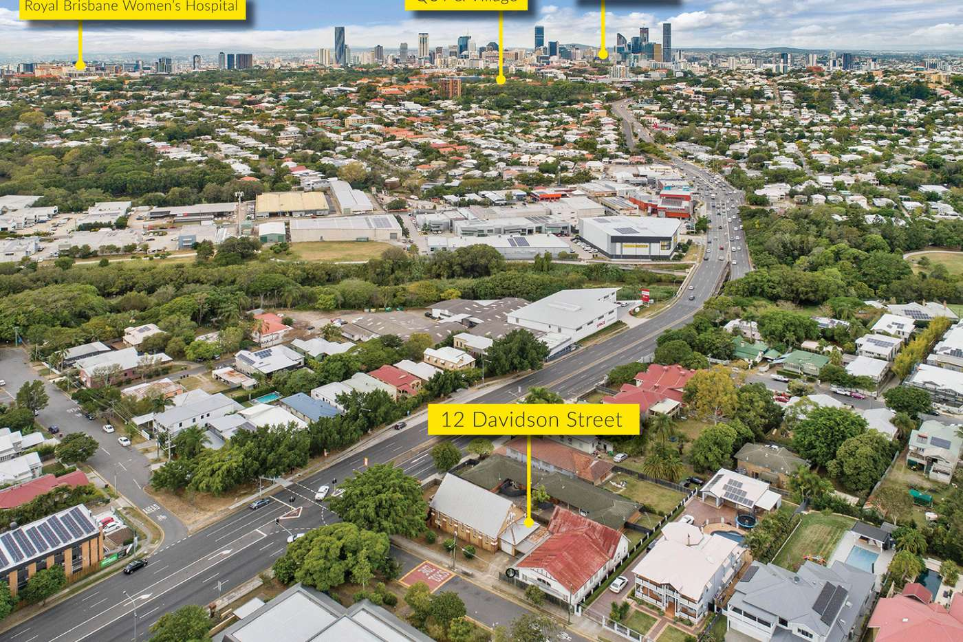 Sixth view of Homely house listing, 12 Davidson Street, Newmarket QLD 4051