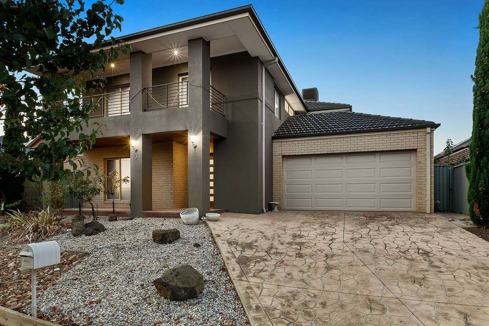 Second view of Homely house listing, 3 Mclaren Chase, Caroline Springs VIC 3023