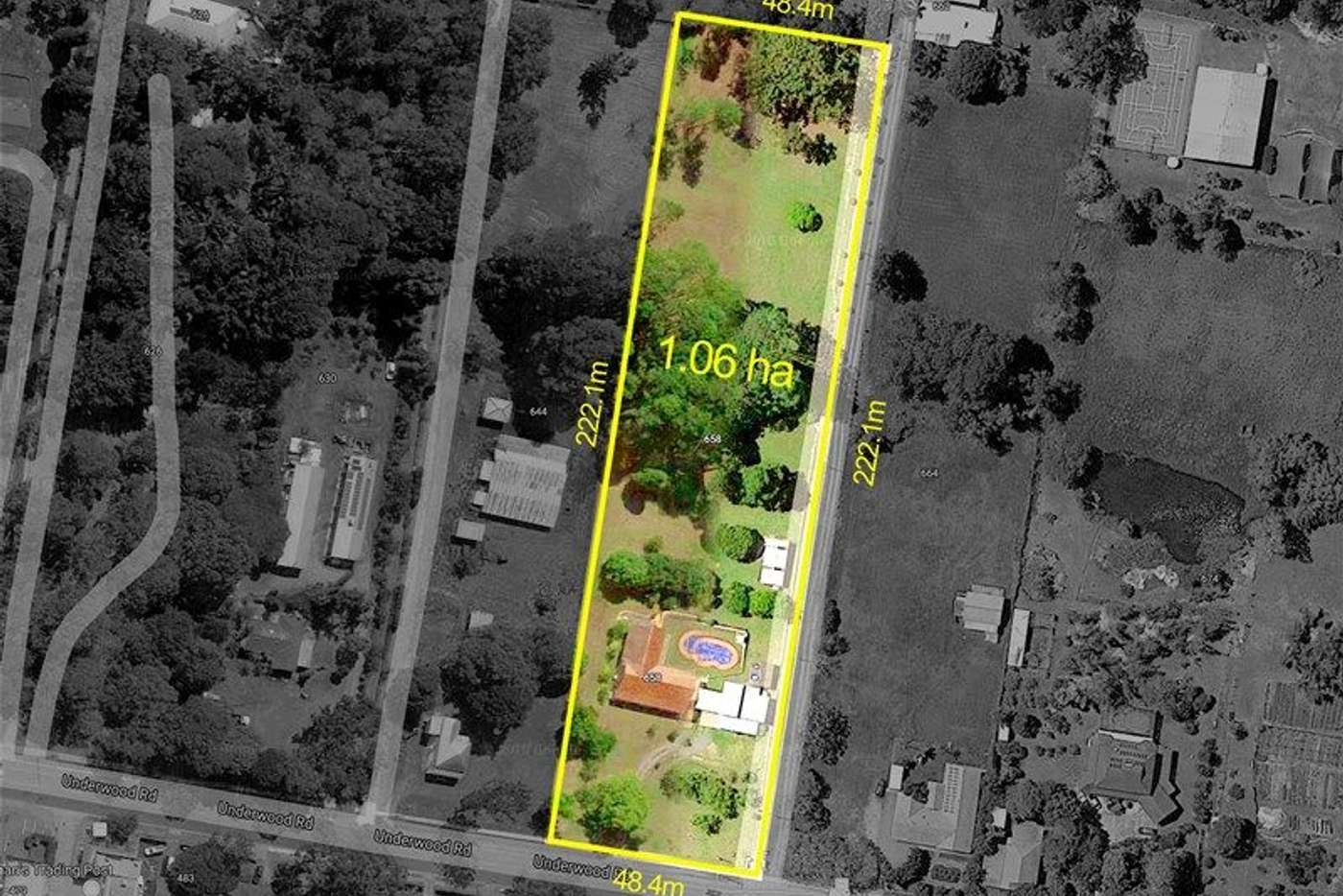Main view of Homely house listing, 658 Underwood Road, Rochedale QLD 4123