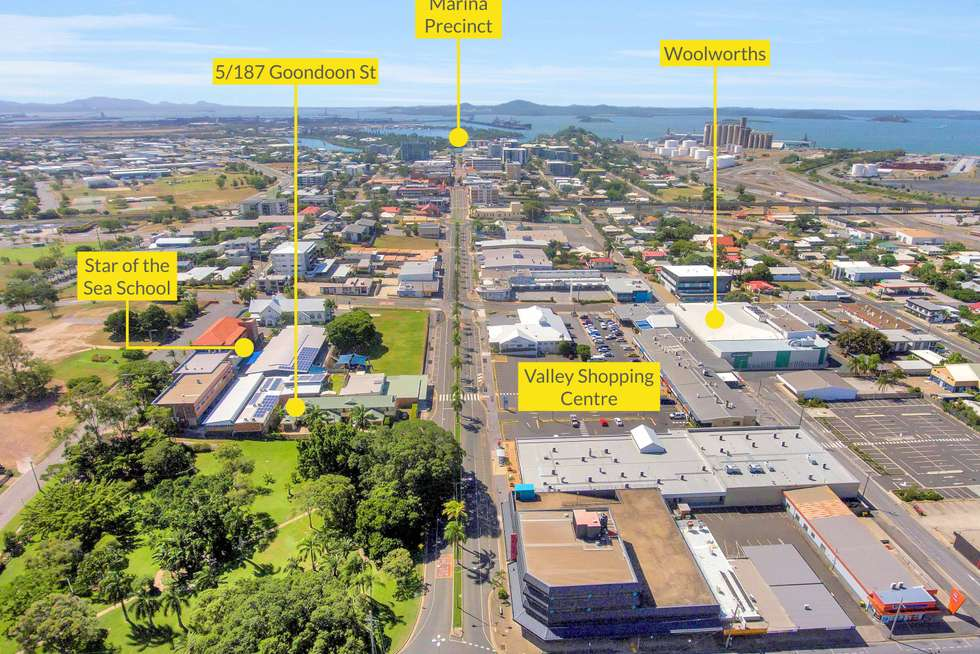 Second view of Homely unit listing, 5/187 Goondoon Street, Gladstone Central QLD 4680