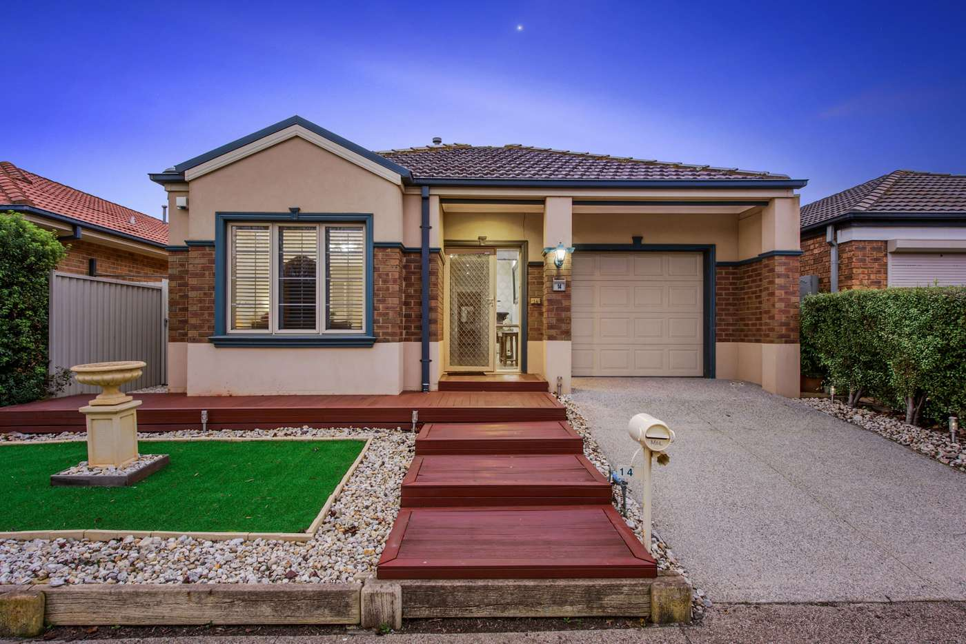 Main view of Homely house listing, 14 Lauricella Place, Caroline Springs VIC 3023