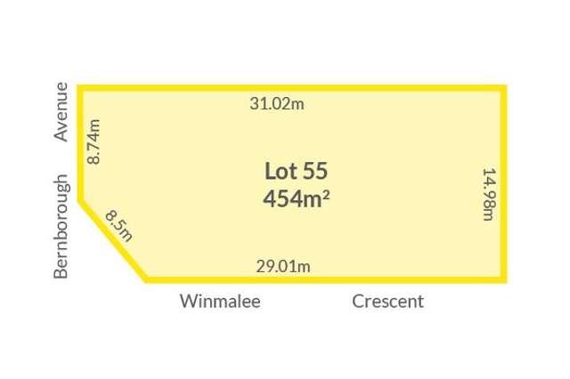 Lot 55 Bernborough Avenue, Caversham WA 6055