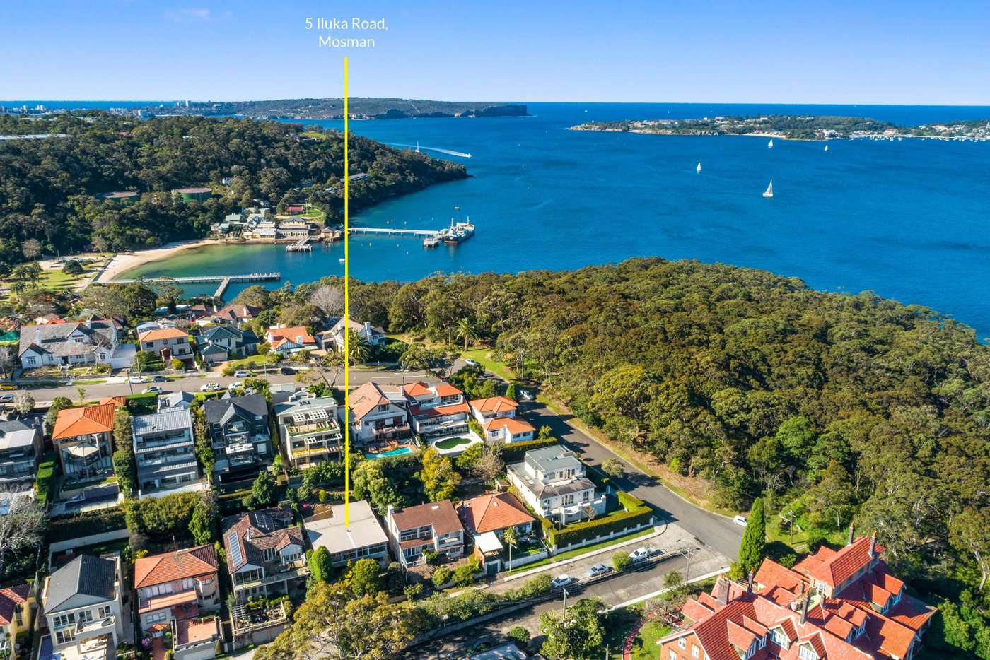 Fifth view of Homely house listing, 5 Iluka Road, Mosman NSW 2088