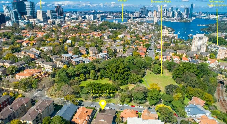 1/2 Hazelbank Road, Wollstonecraft NSW 2065