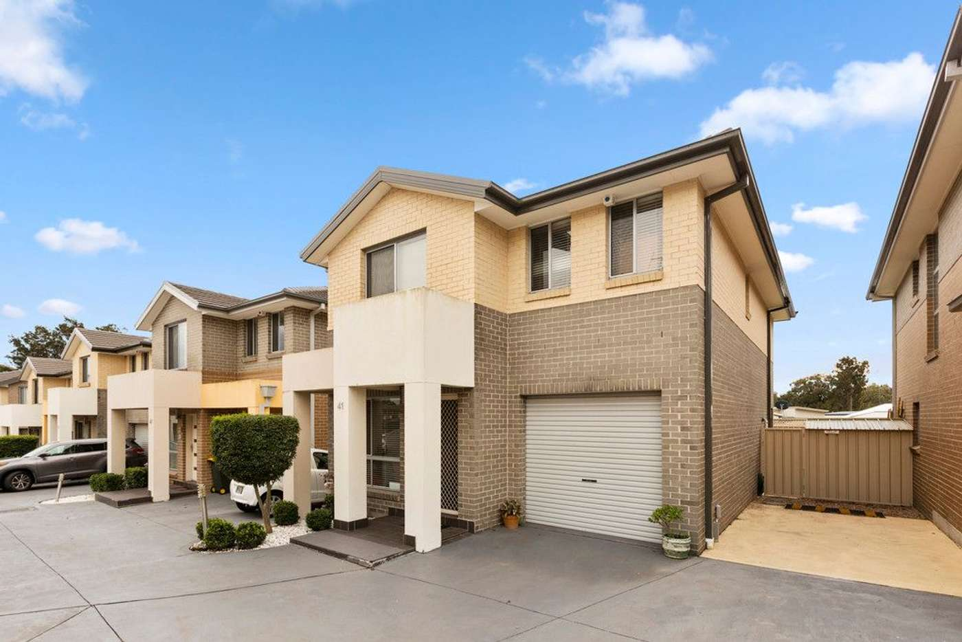 Main view of Homely townhouse listing, 41/570 Sunnyholt Road, Stanhope Gardens NSW 2768