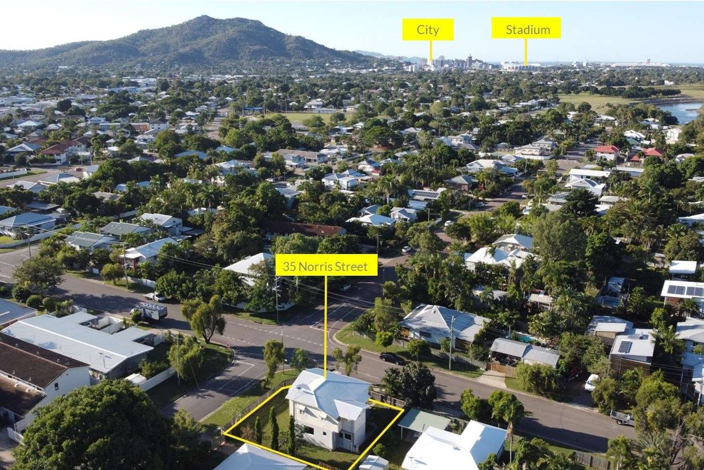 Main view of Homely house listing, 35 Norris Street, Hermit Park QLD 4812