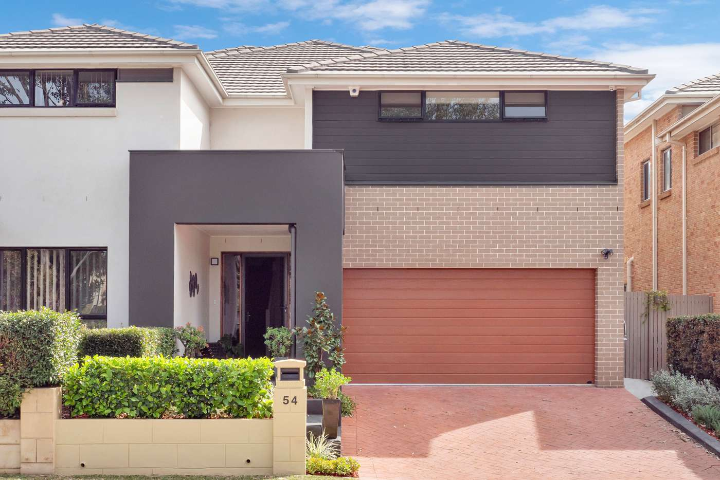 Main view of Homely semiDetached listing, 54 Bentwood Terrace, Stanhope Gardens NSW 2768