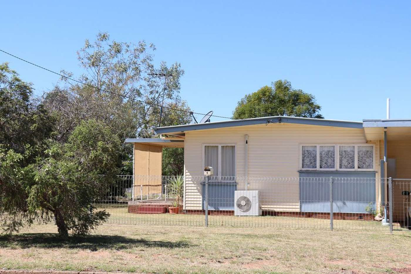 Main view of Homely house listing, 4 Hill Street, Charleville QLD 4470