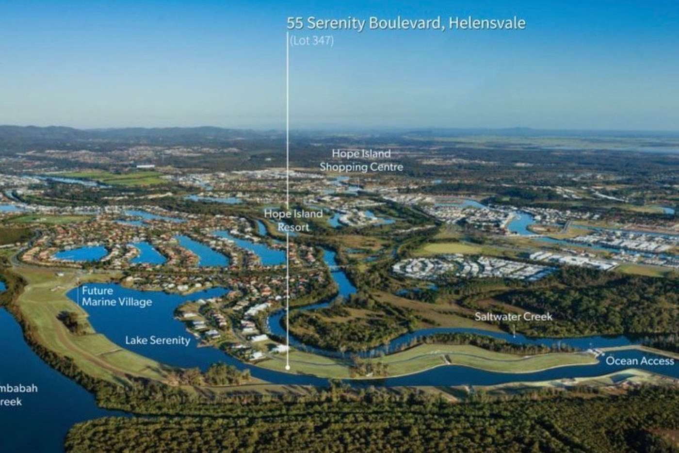 Main view of Homely residentialLand listing, 55 Serenity Boulevard, Helensvale QLD 4212