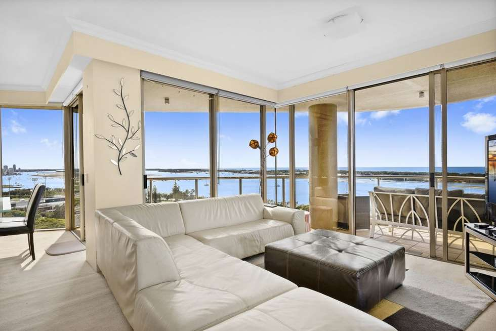 Second view of Homely apartment listing, 1301/50 Marine Parade, Southport QLD 4215