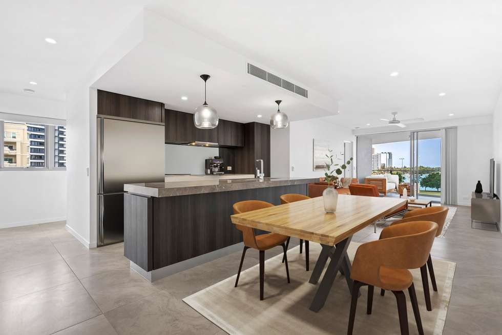 Second view of Homely apartment listing, 602/30 Brighton Parade, Southport QLD 4215