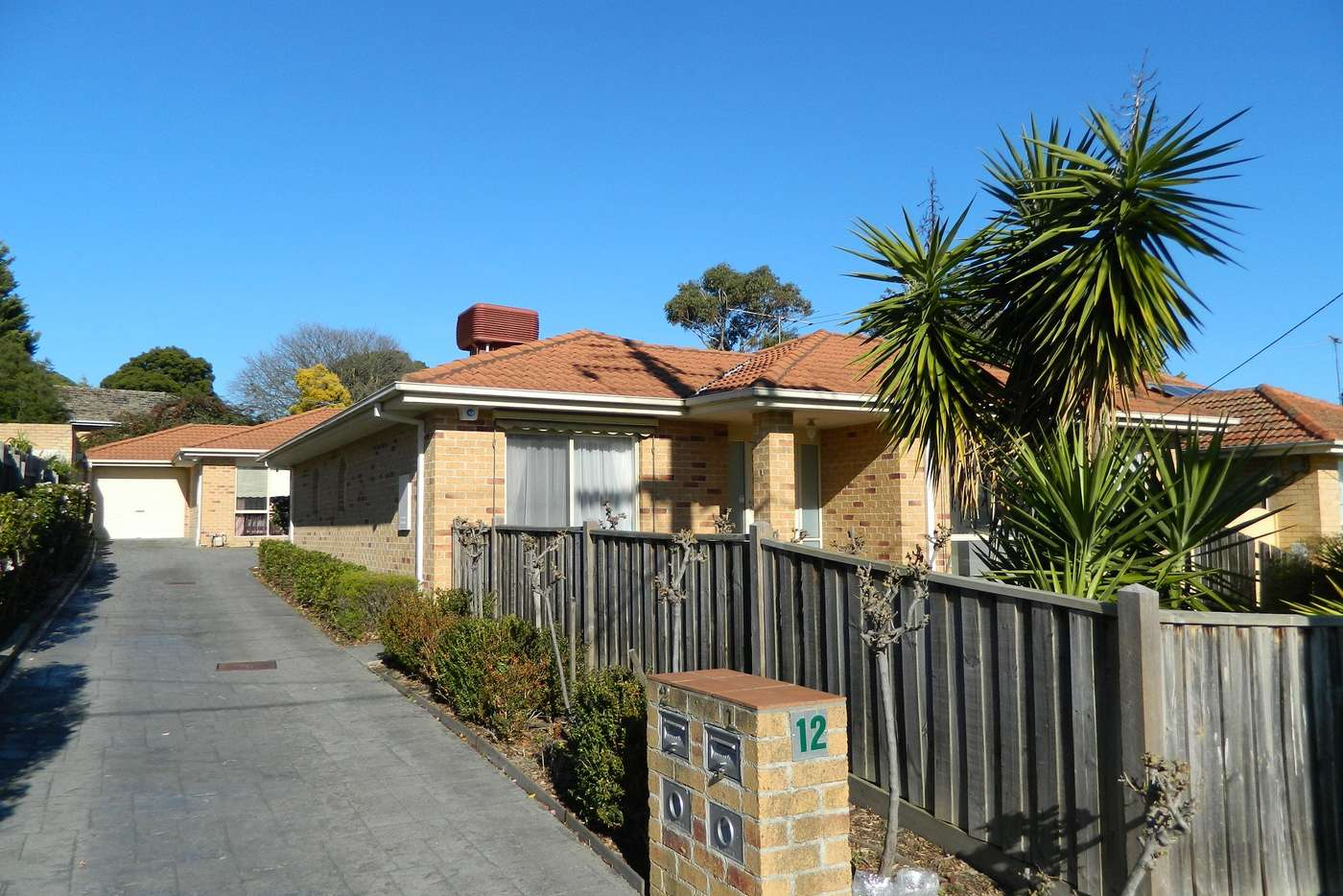 Main view of Homely unit listing, 1/12 Emerald Street, Mount Waverley VIC 3149