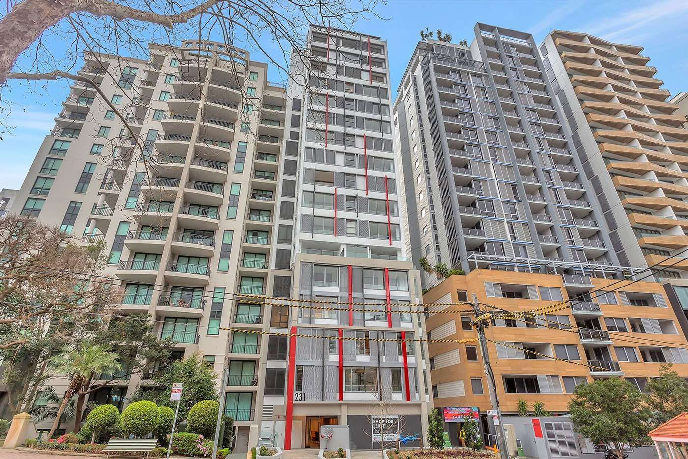 Main view of Homely apartment listing, 703/231 Miller Street, North Sydney NSW 2060