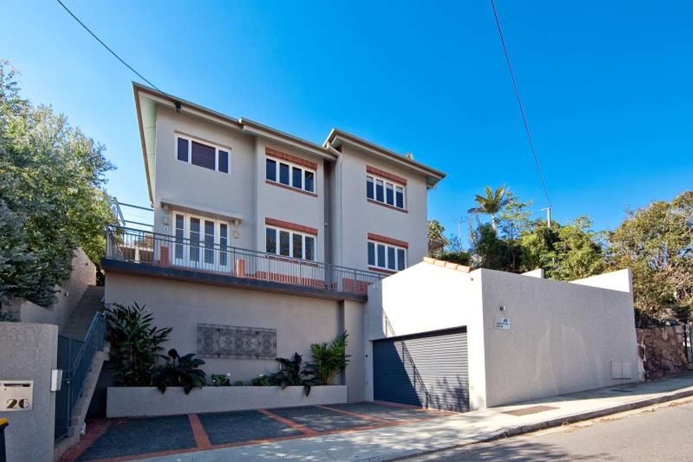Main view of Homely apartment listing, 1/26 Crescent Road, Hamilton QLD 4007
