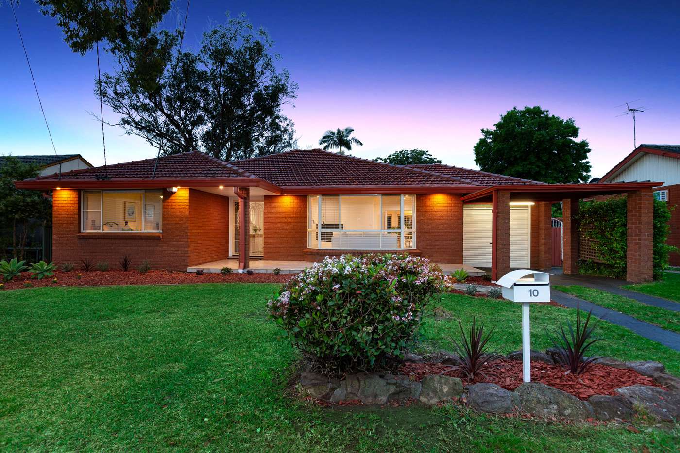 Main view of Homely house listing, 10 Reppan Avenue, Baulkham Hills NSW 2153