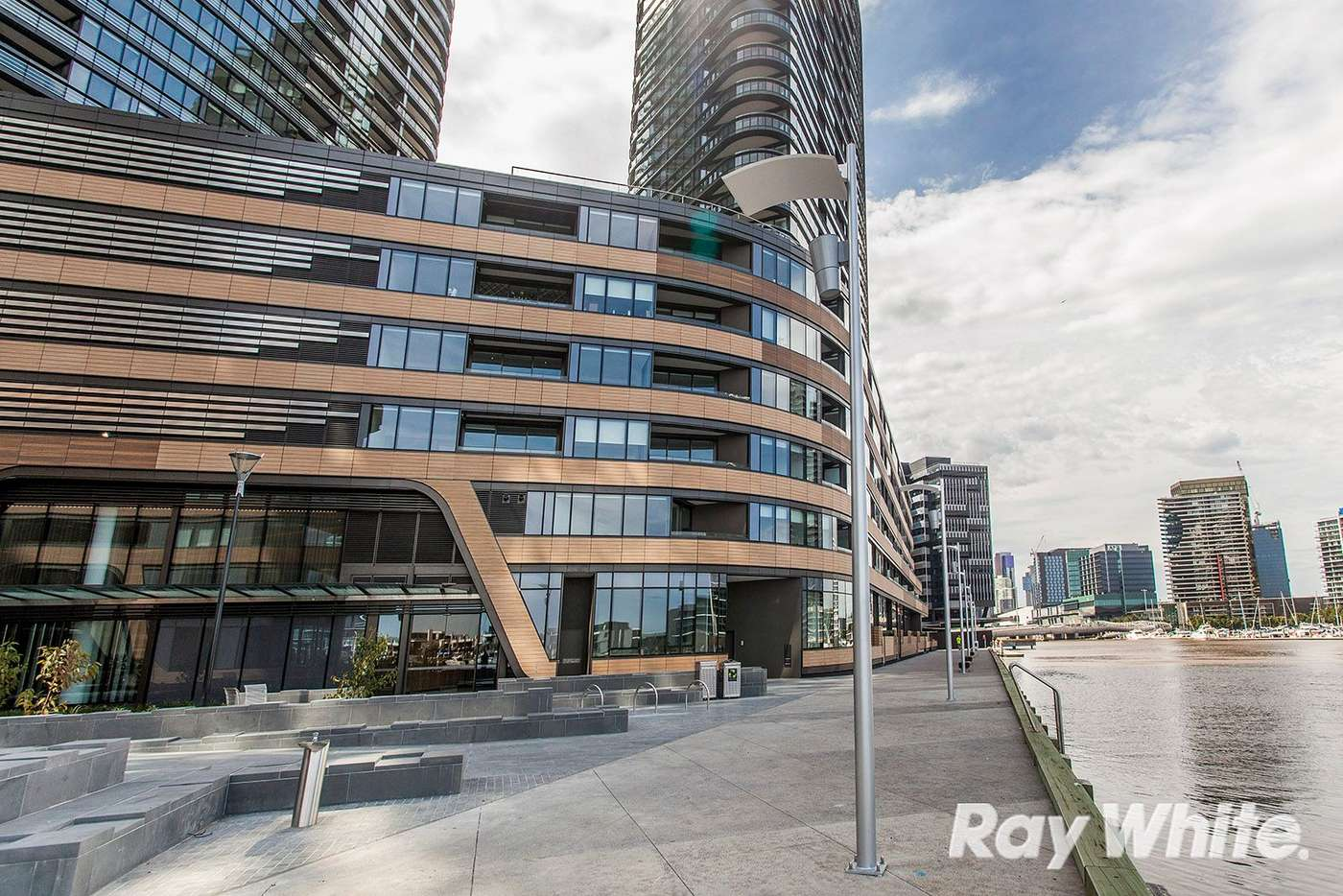 Main view of Homely apartment listing, 1510S 883 Collins Street, Docklands VIC 3008