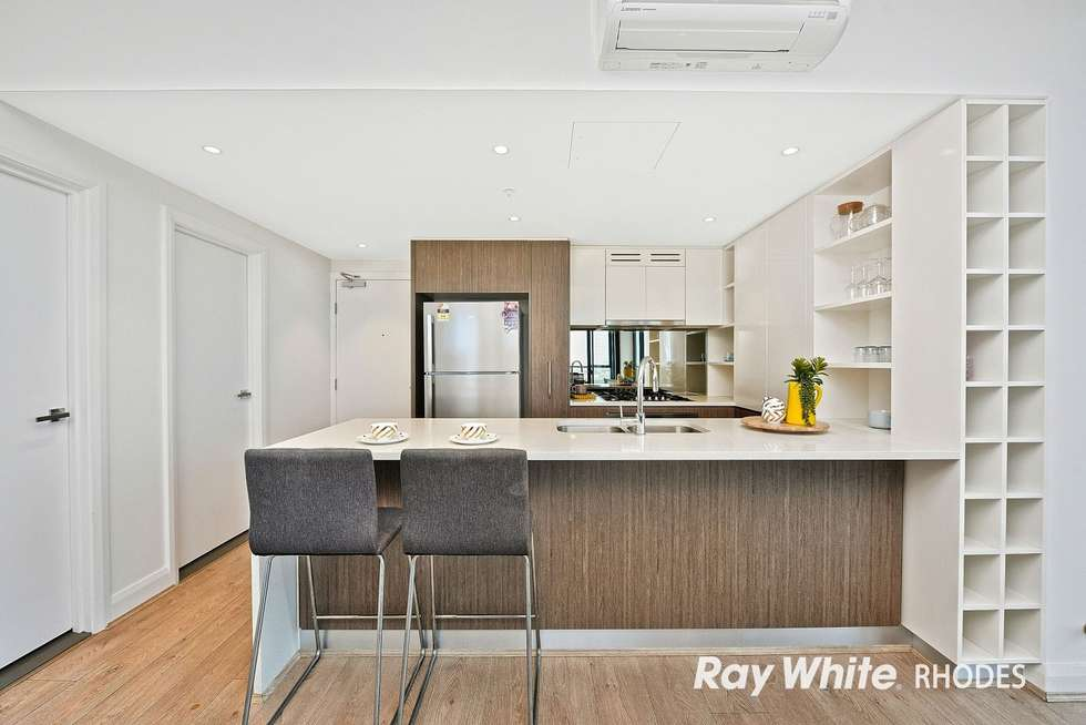 Fourth view of Homely apartment listing, 2203/42 Walker Street, Rhodes NSW 2138