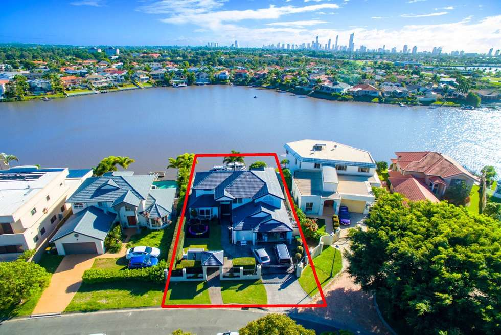 Fourth view of Homely house listing, 156 Port Jackson Boulevard, Clear Island Waters QLD 4226