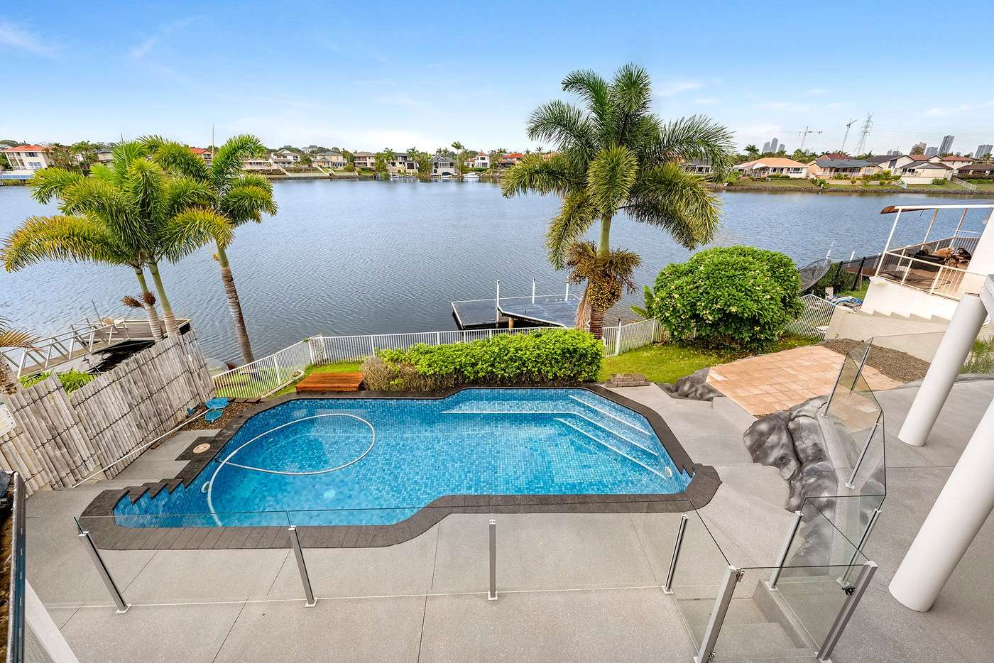 Sixth view of Homely house listing, 156 Port Jackson Boulevard, Clear Island Waters QLD 4226