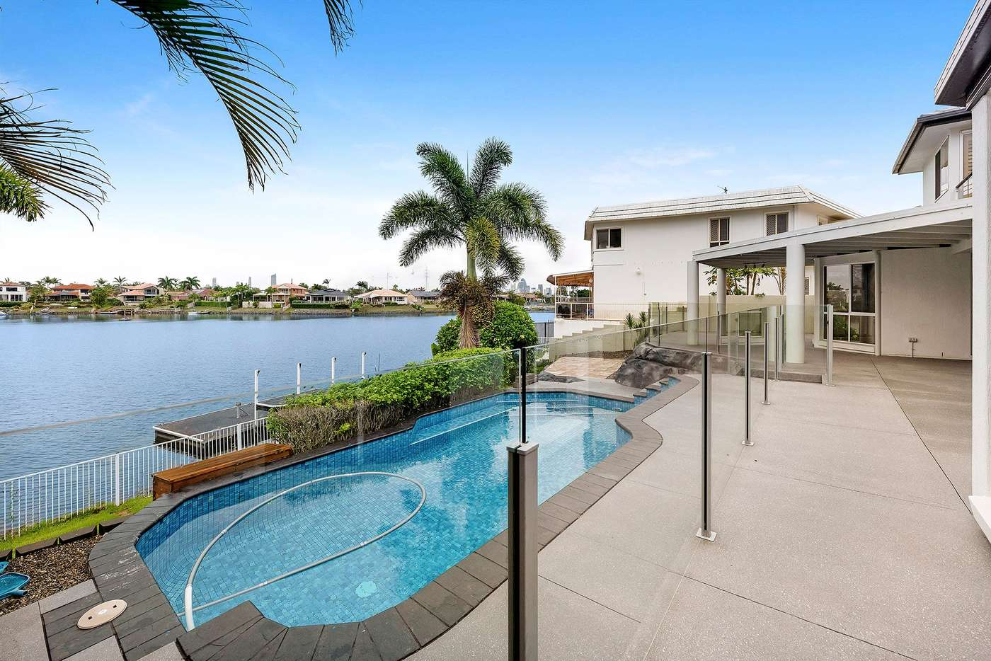 Seventh view of Homely house listing, 156 Port Jackson Boulevard, Clear Island Waters QLD 4226