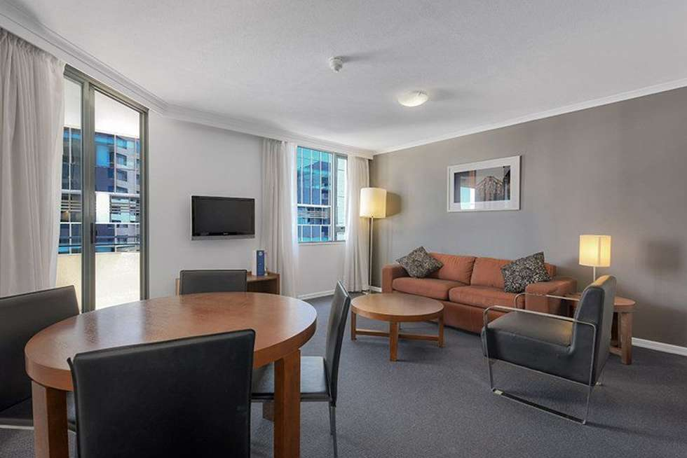 Second view of Homely apartment listing, 2105/95 Charlotte Street, Brisbane City QLD 4000
